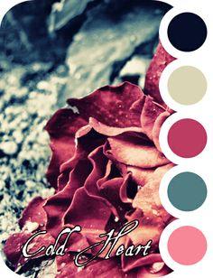 Cold Heart palette