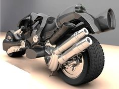 futuristic motorcycle, future motorbike, power, darewolf!