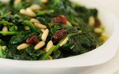 Easy Catalan spinach recipe