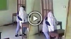 Heboh! Video Pasangan ABG Mesum di Dalam Kelas Yang Jadi Viral
