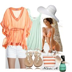 beach outfit! I have this bathing suite :-)