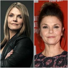 """If you can't get enough of """"Law & Order"""" then you have to look at this epic then and now mashup of your favorite detectives, police officers, and attorneys. Kathryn Erbe, Young Old, Stars Then And Now, Law And Order, Police Officer, It Cast, Culture, Actresses, Female Actresses"""