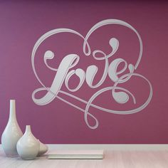 Love for four corners with MuralDecal's magnificent collection of decorative Valentine's Day wall stickers. Decoration, Boutique Deco, Painting, Biscotti, Ideas Para, Bedroom, Home Decor, Rolodex, Wall Stickers