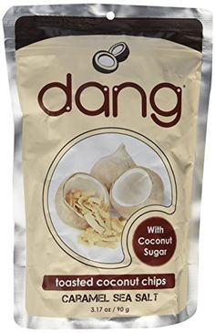 DANG COCONUT CHIP CRML SSALT, 3.2 OZ -- Final call for this special discount  : Baking supplies