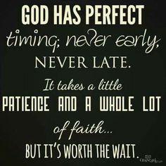 It's worth the wait.