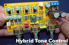 Stereo Hybrid Tone Control Car Amplifier, Circuit Diagram, Diy Electronics, Electronic Circuit, Distortion, Circuits, Chen
