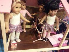 Beautiful American Girl Doll Ballerina.