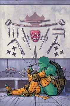 Ninja Turtles Art, Teenage Mutant Ninja Turtles, Ninja Turtle Toys, Comic Books Art, Comic Art, Arte Ninja, Arte Nerd, Arte Dc Comics, Geek Art