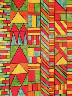 Geometric Panels ♡