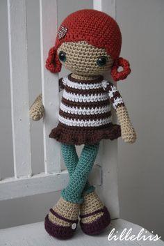 Lotta  amigurumi doll by lilleliis on Etsy, $77.00