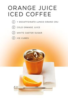 Citrus and espresso is a combination that never fails to please. Try this easy Orange Juice Iced Coffee recipe from Nespresso for a refreshing twist on your morning coffee routine. You'll love the sweet fruity notes of this delicious morning beverage.