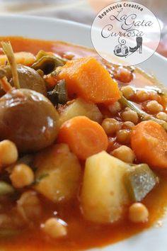 Delicious Dinner Recipes, Fruit Salad, Pork, Ethnic Recipes, Sweet, Cooking, Legumes, Pumpkins