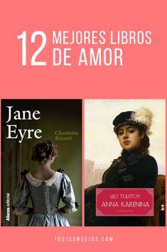 En el día Internacional del libro te recomendamos 12 obras clásicas de la literatura que hablan sobre el amor. | libros que vale la pena leer novelas | libros de amor juvenil | #libros