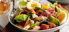 Packed with pasta, tuna and boiled eggs, this salad makes a really hearty meal and is sure to keep you feeling fuller for longer. It also works well as a packed lunch or for a picnic.
