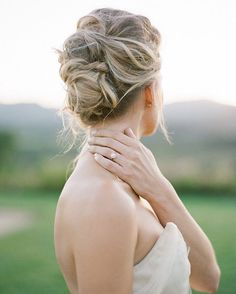 pretty wedding updo hairstyles for all brides