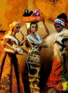african barbies