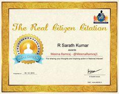 The Real Citizen Citation