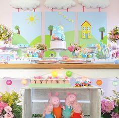 Si a tus hijos les encanta Peppa Pig vamos a ver cómo hacer una fiesta temática…