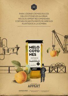 Monsieur Appert  Identidad corporativa, diseño gráfico, packaging