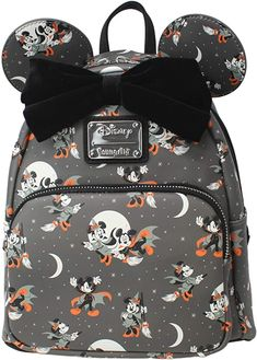 Minnie Mouse Halloween, Halloween Bags, Disney Halloween, Minnie Mouse Backpack, Cute Mini Backpacks, Country Style Outfits, Disney Purse, Dapper Day, Toddler Outfits