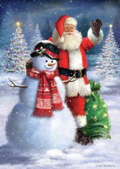 Mary Christmas, Father Christmas, Christmas Time, Christmas Wreaths, Christmas Crafts, Christmas Decorations, Christmas Paintings On Canvas, Christmas Artwork, Vintage Christmas Images