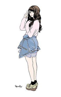 Illustration Girl, Character Illustration, Cute Girl Drawing, Old Anime, Manga Artist, Illustrations And Posters, Character Design Inspiration, Style Inspiration, Manga Girl