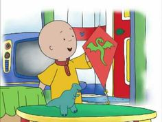 Caillou Videos Channel - Caillou Show and Tell - YouTube