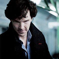 Sherlock laughing  ❤