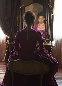 """""""Gugu Mbatha-Raw, in 'Belle' Belle Movie, Different Colored Eyes, Black Royalty, Princess Aesthetic, Portraits, Period Costumes, Ladies Night, Costume Design, Beautiful Dresses"""