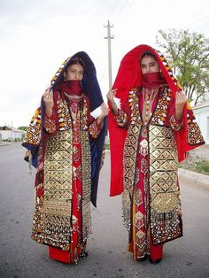 turkmeni traditional clothing - Cerca con Google
