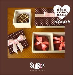#presente #caixa #embalagem #ideia