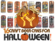 16 Craft Beer Cans for Halloween! http://www.craftcans.com/16-craft-beer-cans-for-halloween
