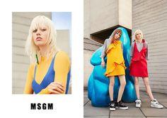 Kiki Willems & Marjan Jonkman for MSGM SS 2016 Campaign by Ben Toms