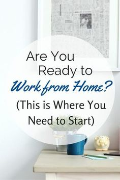 The decision to work from home, freelance or work remotely can be exhilarating, exciting and even scary -- but it shouldn't be overwhelming. This page will help you get started once you're ready to work from home.