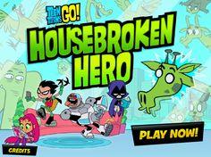 En la casa de estos heroes jovenes (Teen Titans)paso algo, y ahora tienen una aventura divertido donde tienes que capturar comida y tener cuidado del camino ya que hay bloques que se desaparecen, diviertete.
