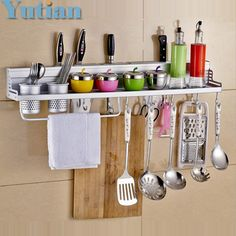 28.99$  Watch here - Kitchen Storage Holders & Racks Kitchen shelf Holder Tool Flavoring Rack bathroom shelf YT-9304  #buyonline