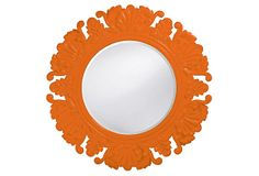 Who needs to spend $350 on this?  Just find a junky mirror at an antique store and paint it!