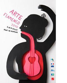 Arte flamenco 2010, Mont-de-Marsan, illustration Amélie Fontaine