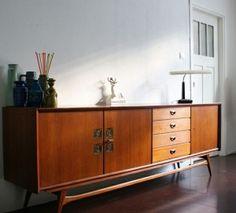 buffet from the fifties by Dutch designer Louis van Teeffelen