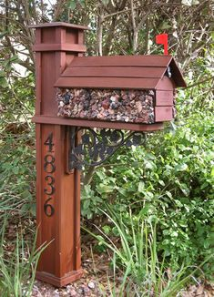Mailbox Design Ideas awesome residential modern mailboxes picture modern mailbox post design ideas modern mailbox locking residential modern mailboxes Craftsman Mailbox Post Ideas Lastly I Designed And Built The Darned Mailbox To Match