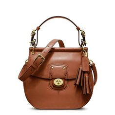 Coach Leather Willis Crossbody Bag Brown Cognac 22382 $298.00 #Coach #Handbags