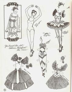Miss Missy Paper Dolls: OPDAG Newsletter 14