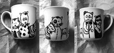 Mug with cats