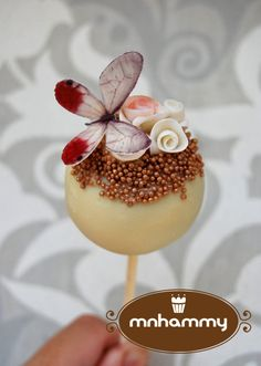 Butterfly cake pop - by mnhammy @ CakesDecor.com - cake decorating website