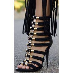 Roman Stiletto Sandals   #size #ShopCoutureFX #badass #social #wedding #couture #savage #heels #plus #style