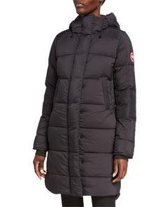 Canada Goose Alliston Packable Down-Fill Coat   Neiman Marcus