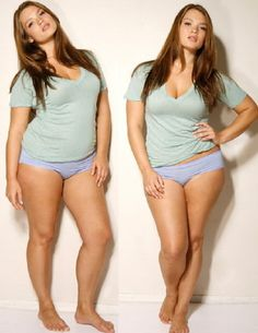 """She makes me feel better about not being """"high school skinny""""...she is beautiful!"""