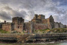 Castles of Isle of Man in Peel City