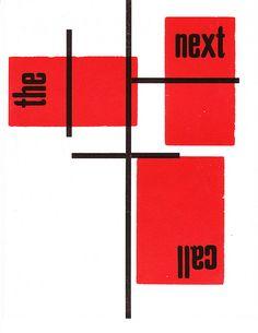 Henrik Werkman - The Next Call by Iliazd, via Flickr