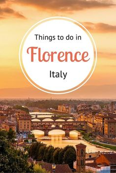 Things to Do in Florence, Italy. You'll find plenty of boomer travel adventures when you visit this beautiful Italian city.